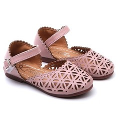 2019 Girls Summer Sandals Baby Girl Toddler Kids Shoes With Sweet Princess Soft Children's Shoes pink 21
