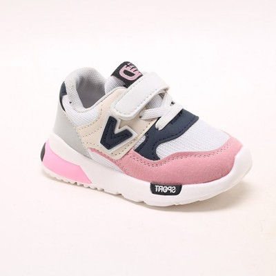 Children Shoes Boys Girls Sports Shoes Fashion Casual Breathable Outdoor Kids Sneakers Shoes pink 21