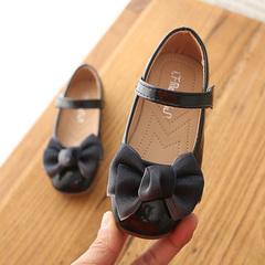 Children shoes,New Kids Leather Shoes, Korean Version Fashion Girls Princess Shoes, Girls Shoes black 21