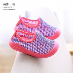 Boys'Leisure Shoes, Children's Sports Shoes, Girls' Single Shoes, Babies'Breathable Mesh Shoes pink 23