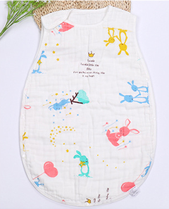 Cotton gauze washable sleeping bag baby Photo Color