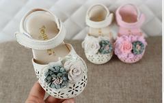 Female baby Baotou sandals Korean cute princess shoes girls soft bottom non-slip toddler shoes WHITE 15