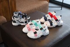 New fashion Korean casual boys and girls shoes black 21