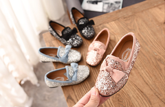 Single shoes with diamond baby shoes pink 26