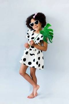 summer ins new female treasure children's wear small flying sleeves vest dress picture 90cm