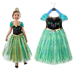 Baby girl Frozen Princess Dress Halloween Dress priness picture 100cm