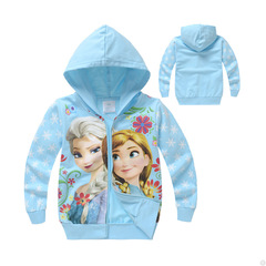 Frozen Frozen Children's Wear Sweater Girls' Jacket Children's Tops picture 90cm