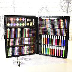 Stationery 168pcs children's painting gift box brush watercolor pen set six one children's gift DIY colour