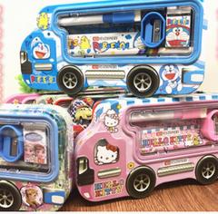 pencil bag creative primary school stationery set children learning pencil case cartoon stylus box kitty