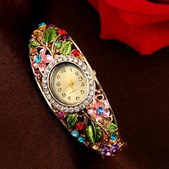 Authentic cloisonne bracelet watch popular models high-grade diamond watch blue average