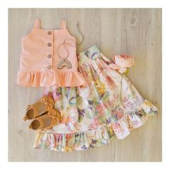 European and American new girls and children's jackets and loose skirts picture 80cm