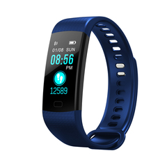 Y5 Smart Sport Watches , Bluetooth WristWatch with Camera, puls Monitoring blue one size