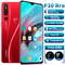 New Bobarry Smart Phone P30 pro 128G+6G 16MP+8MP 2G/3G/4G 6.3Inch Android smartphone red
