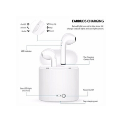 Twins Wireless Bluetooth In-ear Earphone Stereo Headset For Android And IPhone Airpods White white white
