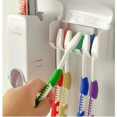 Toothpaste Dispenser white normal