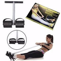 Tummy Trimmer For Physical Fitness - Purple- one size black