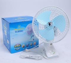 Clip and Table Fan - White White