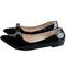 Women fashion Flat Pointed Shoes -Women's Shoes Black 39