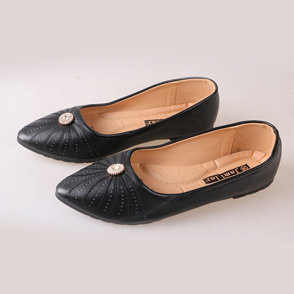 Best Price & Limited stock Women fashion Flat Pointed Shoes ladies shoes women shoes black 41