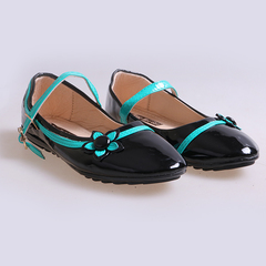 Only 20 PCS in Stock Best Price Kids Flat Shoes ladies shoes women shoes Black 26