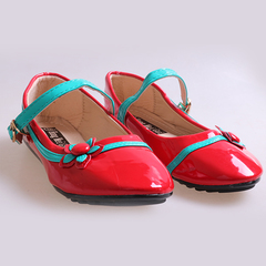 Only 5 PCS in Stock Best Price Kids Flat Shoes ladies shoes women shoes Red 27