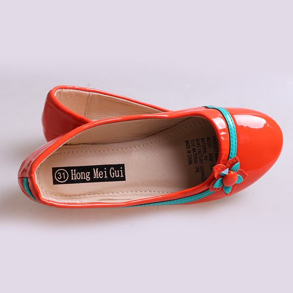 Kids Flat Shoes red 34 4