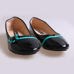 Only 20 PCS in Stock Best Price Kids Flat Shoes ladies shoes women shoes black 34