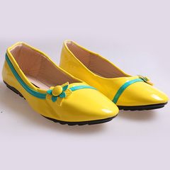 Only 5 PCS in Stock Best Price Kids Flat Shoes ladies shoes women shoes yellow 33