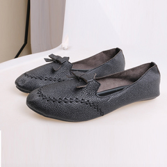 Best Price & Limited stock Women fashion Flat Shoes ladies shoes women shoes black 37