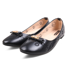 Best Price & Limited stock Women fashion Flat Pointed Shoes ladies shoes women shoes black 40