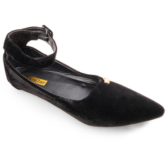Factory Best Price & Limited stock Women fashion Flat Pointed Shoes ladies shoes women shoes black 40