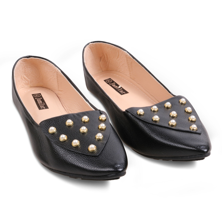 Only 20 PCS in Stock Factory Best Price Women fashion Flat Pointed Shoes ladies shoes women shoes black 40