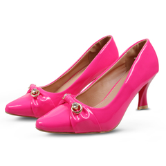 Only 20 PCS in Stock Factory Best Price Best Shoes  Heels ladies shoes women shoes Pink 36