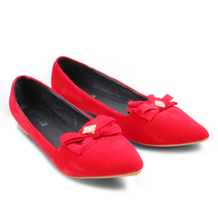 Only 20 PCS in Stock Best Price Women Flat Pointed Shoes ladies shoes women shoes red 42