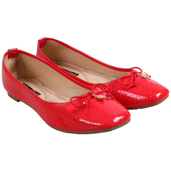 Only 5 PCS in Stock Factory Best Price Women Flat Pointed Shoes ladies shoes women shoes Red 37
