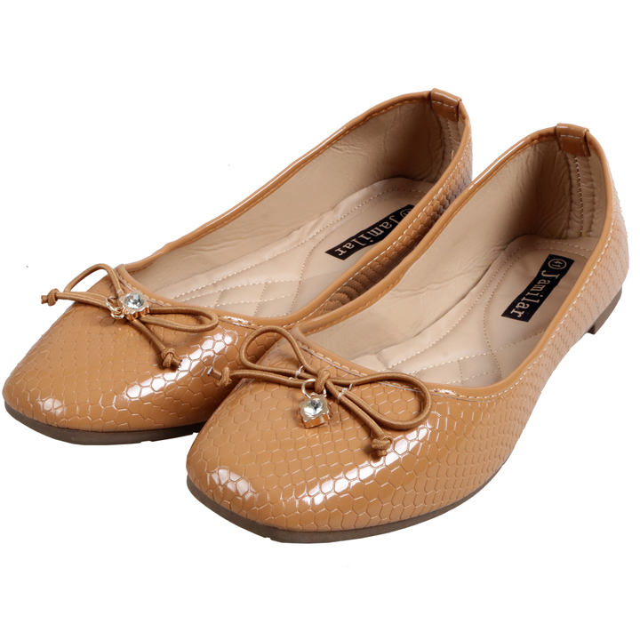 Only 20 PCS in Stock Factory Best Price Women Flat Pointed Shoes ladies shoes women shoes Brown 42