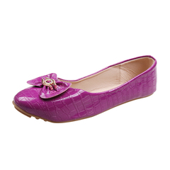 Only 10 PCS in Stock Factory Best Price stock Women Flat Pointed Shoes ladies shoes women shoes purple 41