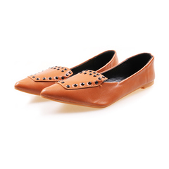 Only 20 PCS in Stock Factory Best Pricestock Women Flat Pointed Shoes ladies shoes women shoes camel 38
