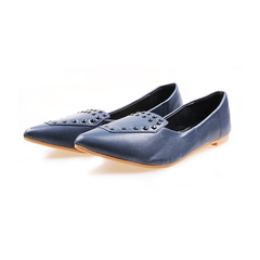 Only 10 PCS in Stock Factory Best Pricestock Women Flat Pointed Shoes ladies shoes women shoes navy 41