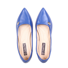 Only 10 PCS in Stock Factory Best Price stock Women Flat Pointed Shoes ladies shoes women shoes navy 37