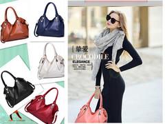 Women's Bag 2019 New Bag Ladies Classic Leisure Fashion Soft Bag Ladies Slant Handbag Shoulder Bag Navy Blue one size