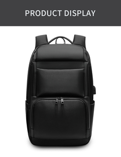 New Vision Men Travel Backpack Large Capacity   Bag USB Charging 17