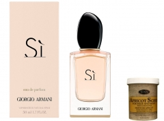 Si by Giorgio Armani for women + free Apricot body/face Scrub