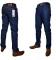 Blast Fashions Straight Cut Jeans BLUE 32