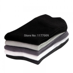 Five Pack High Quality Men's Business Casual Cotton Socks For Male Brand Autumn Winter