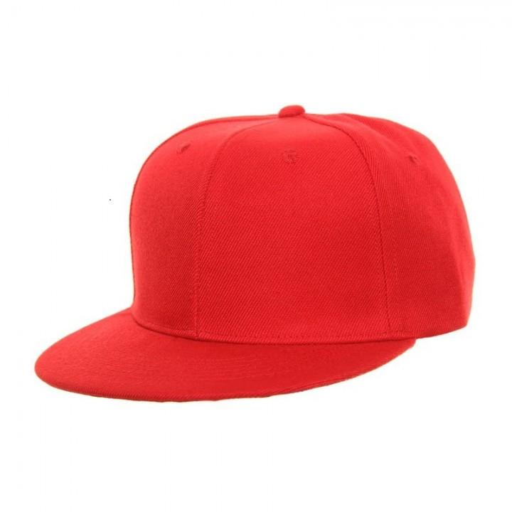 New Baseball Cap Flexfit Classic Snapback Blank Plain Hat Cap Sport Outdoor  RED 0b393d7220c1