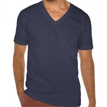 Swag Fitness T Shirts Men Solid V Neck T Shirts New Cotton Hip Hop T-Shirts Short Sleeve Fashion NAVY BLUE XL