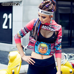 New fashion women's tide clothing hot tide models wild self-cultivation one color one size