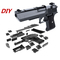 Children's Gift Creative DIY Building Blocks Toy Gun Assembly Toy Puzzle Brain Game Model one color one size