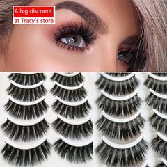 Kilimall Kenya 5th10 Pairs natural Mink 3D False Eyelashes Extension Thick Wispy Fluffy eye Makeup 501